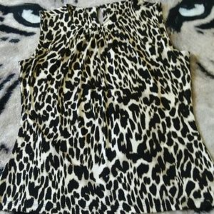 Tops - Leopard Print Dress Top